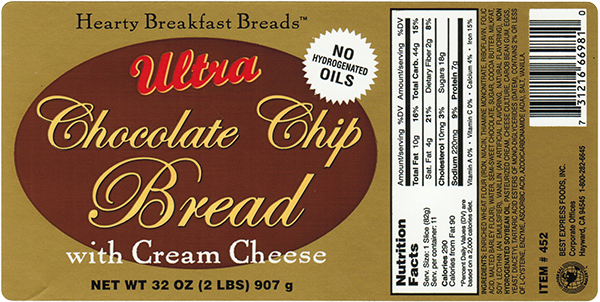 Commercial Label